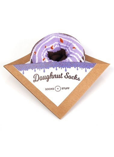 Socks+Stuff Berry Berry Donut Çorap Lila